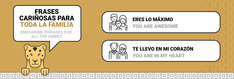 endearing phrases in spanish