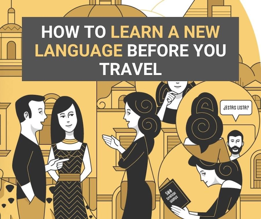 learn a language before travel