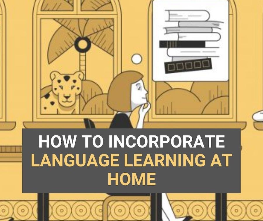 language learning at home