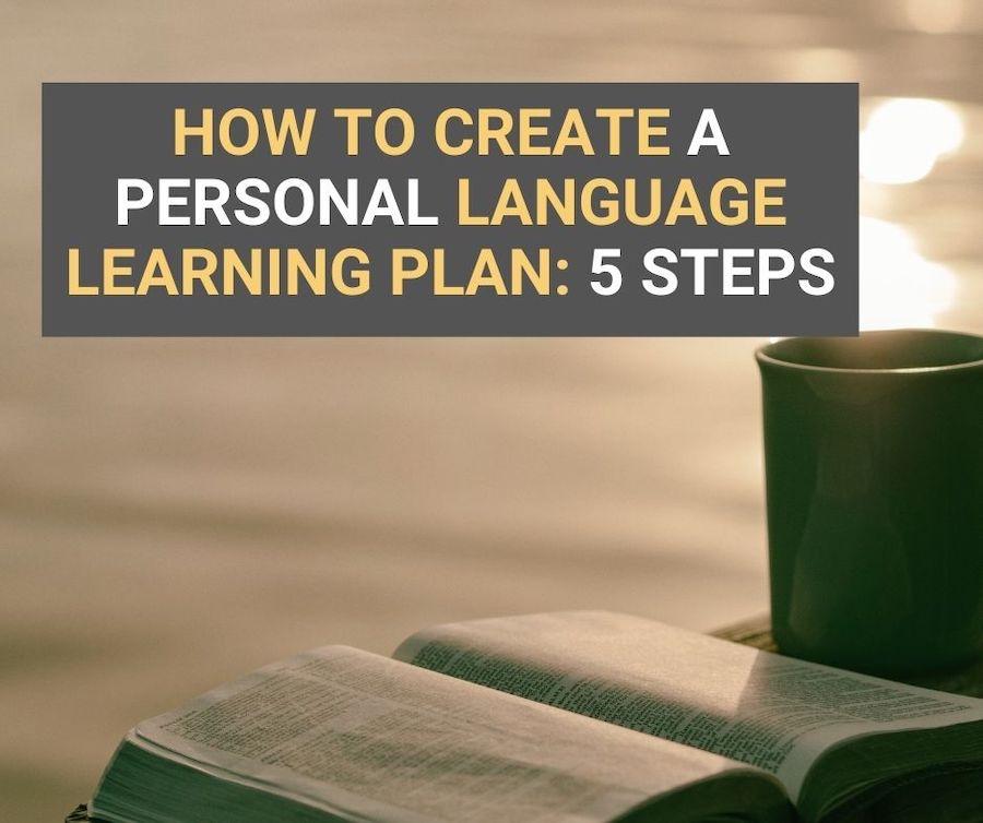 language learning plan
