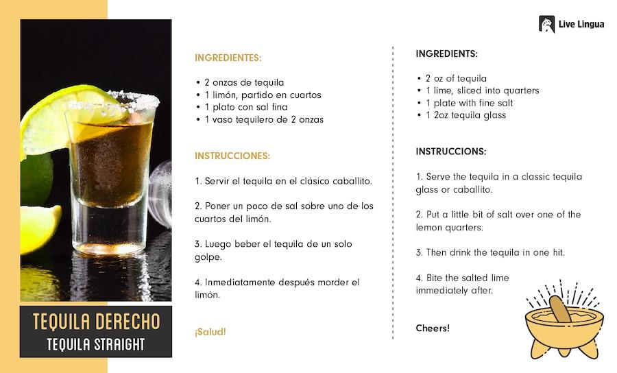 tequila derecho recipe