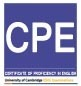 CPE Exam Tutoring