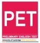 PET Test Preparation