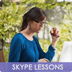 Skype French Lessons - Left