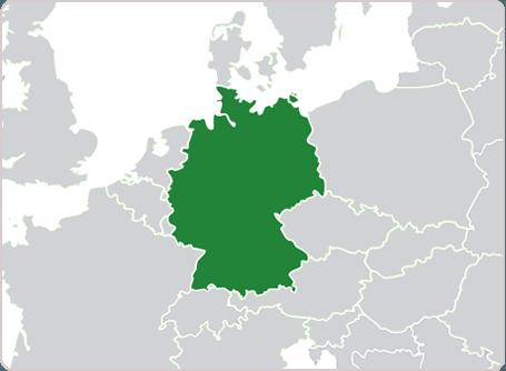 Where is German spoken?