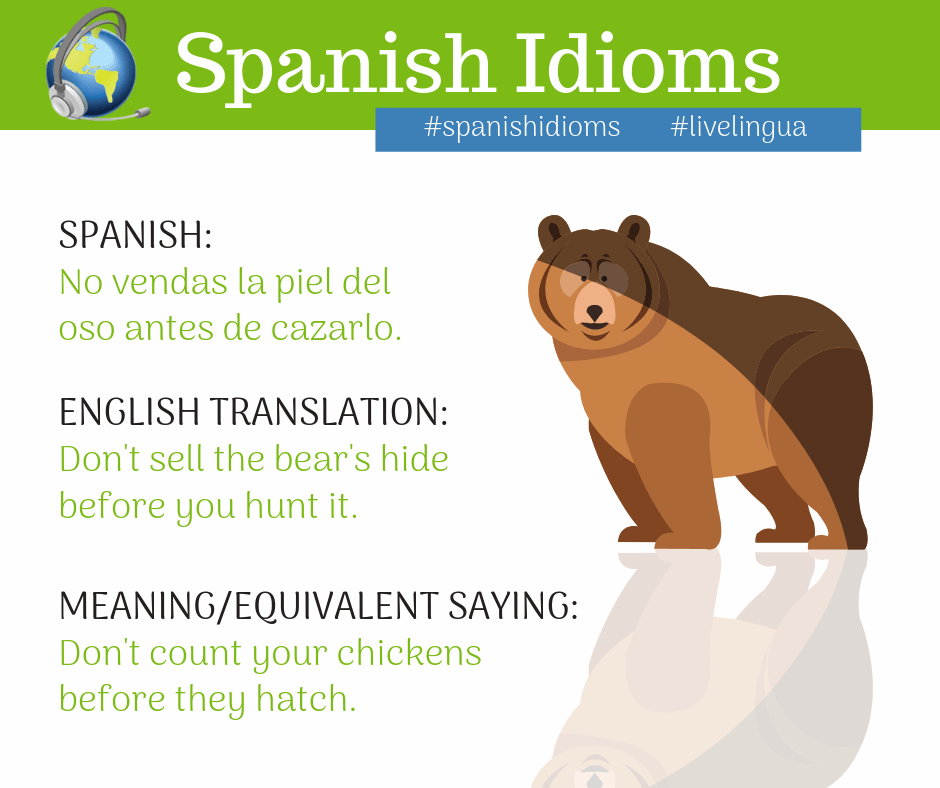 20 Spanish idioms every Spanish student should know | Live