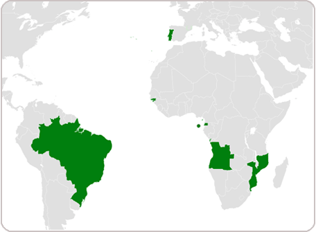 Where is Portuguese spoken?