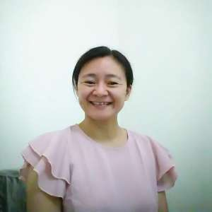 Chinese teacher Ms. Li Hui, Moon Hsiao