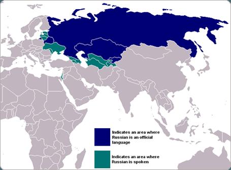 Where is Russian Spoken?