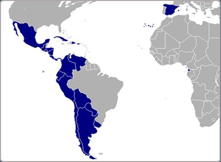 Where is Spanish spoken?