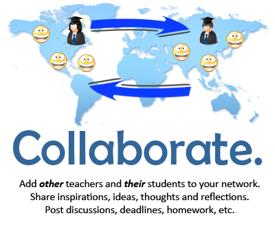 students teachers social networking